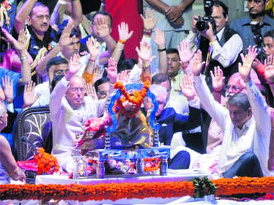 Pranab 3rd President to attend Ganga aarti
